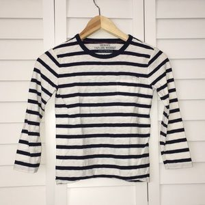CREWCUTS STRIPED LONG SLEEVE